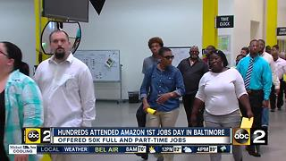Amazon holds job fair in Baltimore - Video