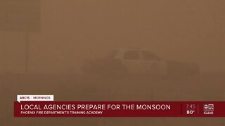 Local agencies prepare for monsoon conditions