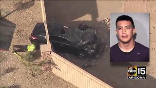 Top stories: brush fire, wrong-way crash, car through house - Video