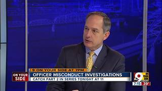 Craig Cheatham discusses officer misconduct investigation - Video