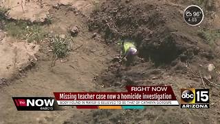 Missing teacher case now a homicide investigation - Video