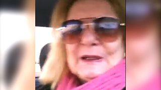 Fabulous Grandma Wins At Selfies - Video