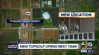 Topgolf opening Glendale location, set to open late 2018