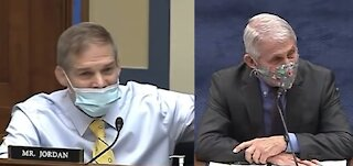 Jim Jordan GOES BALLISTIC on Fauci in Fire House Hearing