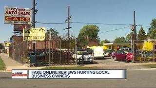 7 Investigators uncover fake online reviews of Detroit businesses - Video