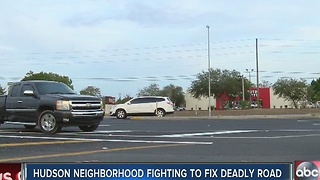 Residents fight to make deadly Hudson intersection safer - Video