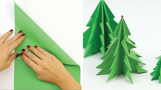 DIY Cardboard Christmas tree - Video
