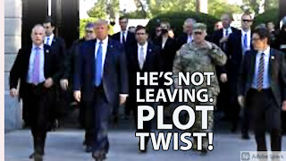 Trump Is Not Leaving Office. Here's Why?