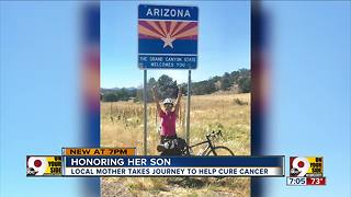 Local mom honoring her son - Video