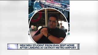 Iranian man planning to attend Michigan State PhD program detained at Detroit airport