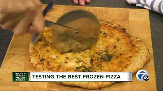 Testing the best frozen pizza - Video