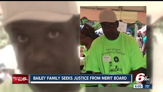 Aaron Bailey's family seeks justice from Merit Board as they determine career fate of two officers - Video