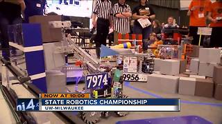 State Robotics Championship shows WI student's have a bright future - Video