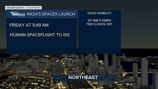 Kate Wentzel previews Friday morning's SpaceX launch