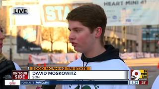 At Cincinnati's Heart Mini, stroke survivor David Moskowitz says 'there is always hope' - Video
