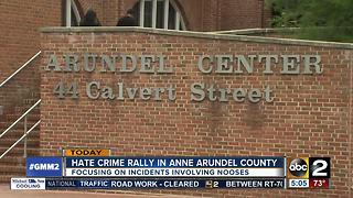 Hate crime rally planned in Anne Arundel County - Video
