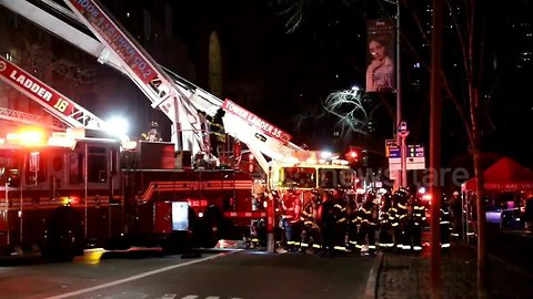 5th Avenue shut down after heavy fire rips through $50 million dollar Upper East Side mansion