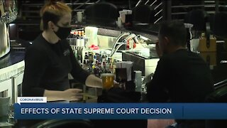 Effects of Michigan Supreme Court decision on Governor Whitmer's emergency powers