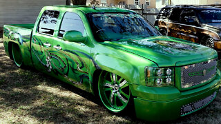 GMC Sierra Converted Into Insane 'Green Envy' | RIDICULOUS RIDES