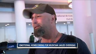 Milwaukee musician back from Abu Dhabi jail - Video