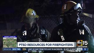 Fire departments focus on managing mental health after high-stress calls - Video