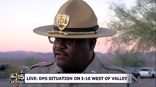 DPS talks about trooper-involved shooting west of Phoenix - Video