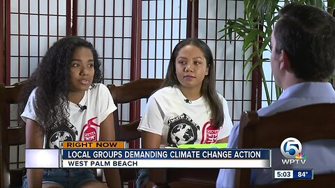 Global Demands for action on climate change