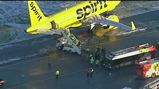 More details on Spirit Airlines Plane skid in Baltimore