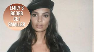 Emily Ratajkowski Slams Mag For Photoshopping Her Breasts - Video