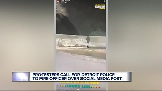 NAN calls on Detroit police to fire officer over social media post