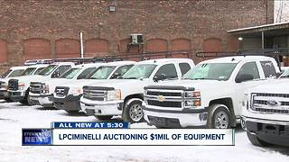 LPCiminelli auctioning a million dollars worth of equipment - Video