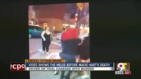 Video shows melee before Madie Hart's death