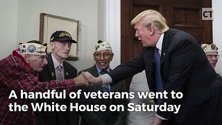 Pearl Harbor Vet Steals the Show - Video