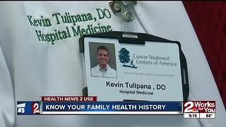 Know your family health history - Video