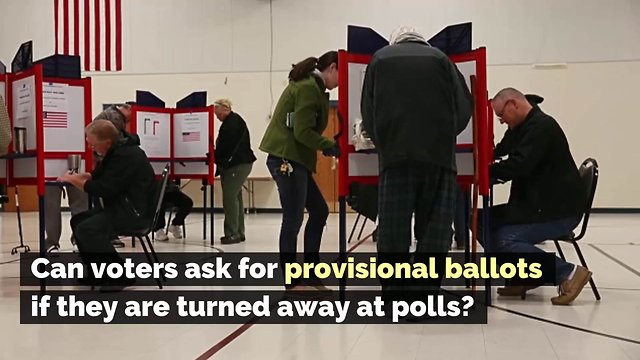 Can Voters Ask for Provisional Ballots If They Are Turned Away at Polls?