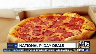 Pi Day deals around the Valley - Video
