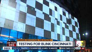 Cincinnati Blink four-day art and light festival raises dazzle Downtown - Video
