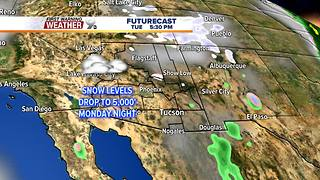 FORECAST: More moisture arrives with colder air - Video