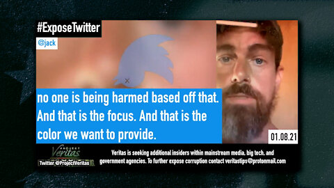Project Veritas Strikes Again, Twitter CEO Jack Dorsey Says This Is Just The Beginning