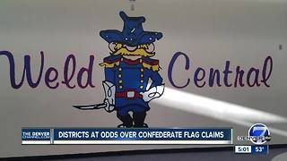 District at odds over Confederate flag claims - Video