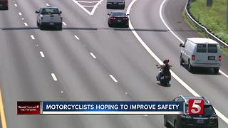 Motorcyclists Hope To Make The Road A Safer Place - Video
