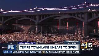 Splash & Dash event canceled at Tempe Town Lake - Video