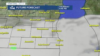 Showers expected to stop Thursday evening