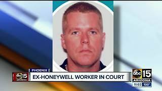 Man accused of selling out Honeywell to appear before federal judge - Video