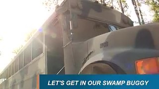 Babcock Ranch offers swamp buggy eco-tours - Video