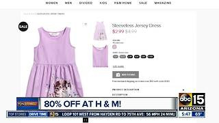 H&M offering BIG sale on spring fashion!