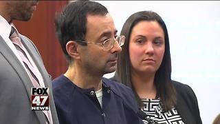 Nassar in Eaton County court for hearing Wednesday - Video