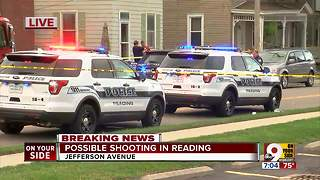 Police investigate shooting in Reading - Video