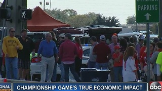 Championship Game's true economic impact - Video