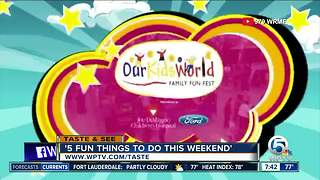 5 fun things to do this weekend (Aug 26 - 27) - Video
